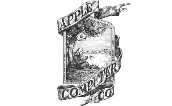 first logo Apple