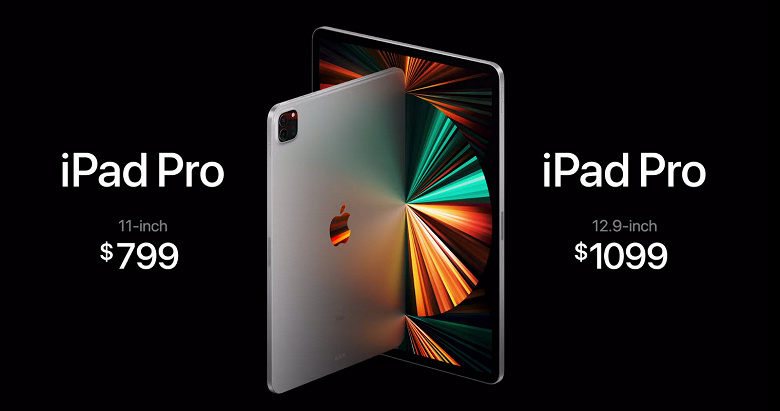 presentation of iPad pro 5