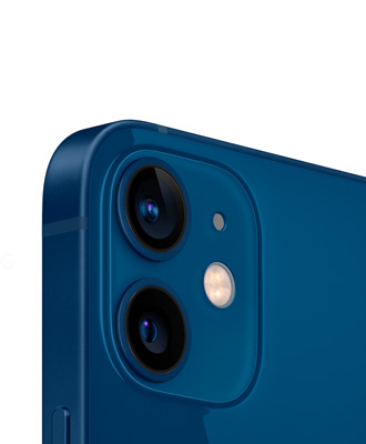 Promotional prices for the new iPhone 12 mini blue 64 GB model range