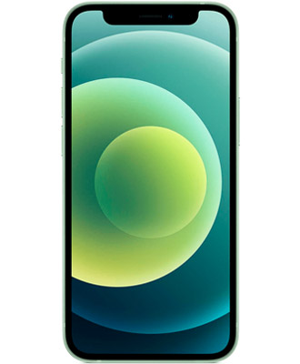 Buy iPhone 12 mini green for 64 GB with a guarantee from ICOOLA