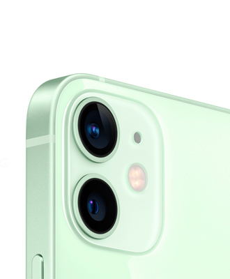 Order an iPhone 12 mini 128 GB green with a 1-year warranty