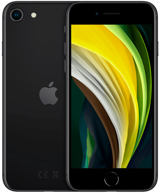 iPhone SE 2020 Black 64 гб б/у