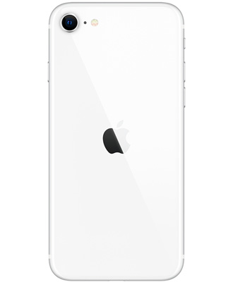 White iPhone SE 2020 second generation on 256 GB second-hand
