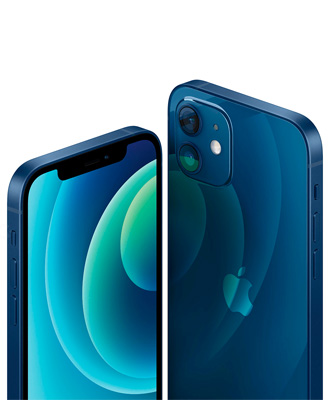 The new iPhone 12 blue 64 GB in ICOOLA
