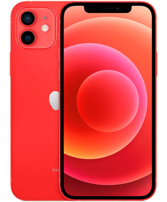 Top smartphone iPhone 12 red 256 GB