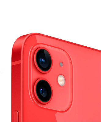 The new iPhone 12 red 256 GB with a guarantee