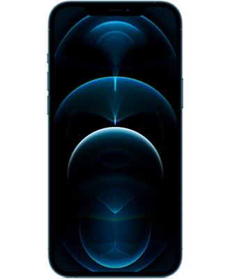 Bright and high-quality screen in the new apple iphone 12 pro max 128gb pacific blue