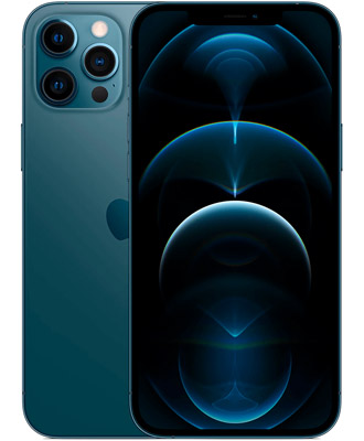 Unsurpassed forms in the new Iphone 12 pro max 256gb pacific blue