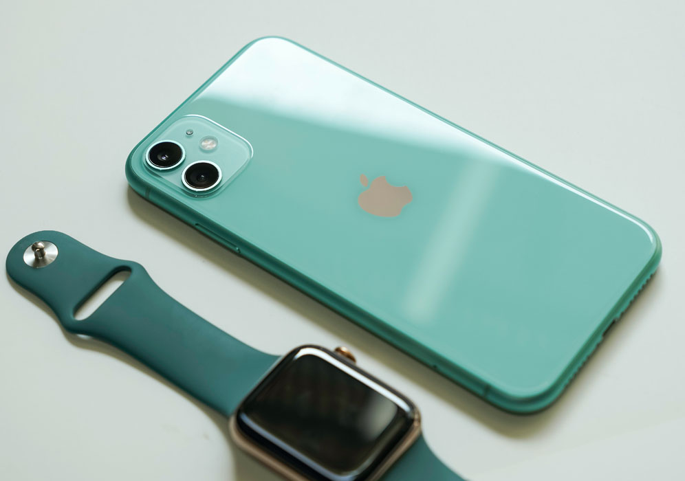 Green iPhone 11 by 128 GB