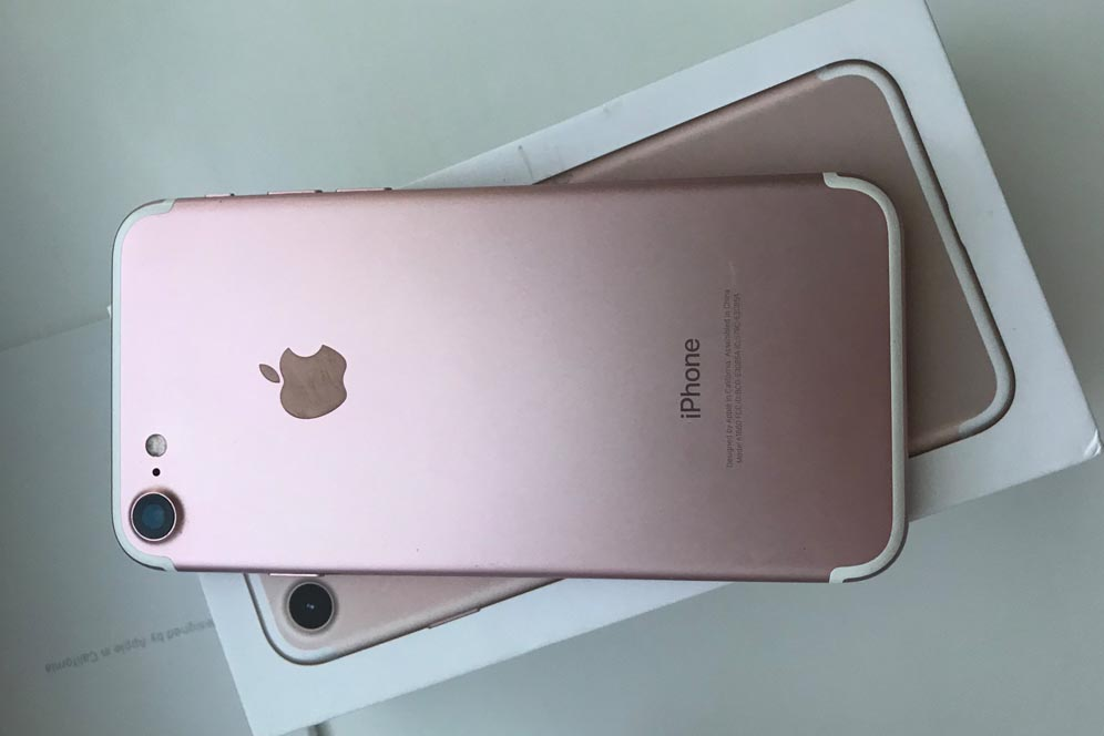 to order online iPhone 7 in color rose gold in Ukraine