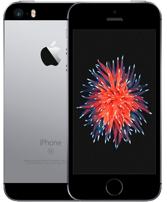 Universal iPhone SE gray space of the first generation