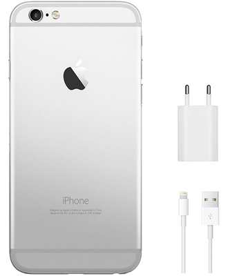 Sales charger kit for iPhone 6 Silver