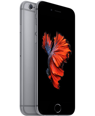 Reliable and uncompromising iPhone 6s in a gray execution.