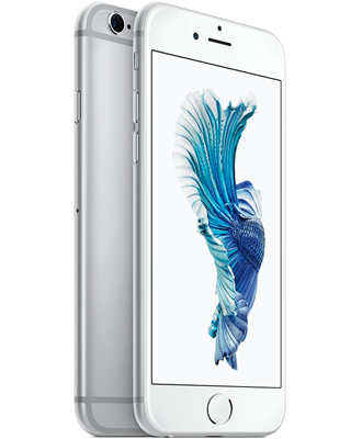 Review of the silver iPhone 6s by 128 gigabytes.