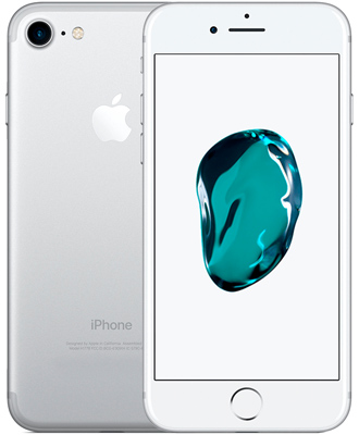 buy a silver iPhone 7 by 128 gigabytes at the lowest prices in Lviv