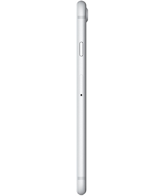 Slim and comfortable iPhone 7 silver for 256 gigabytes