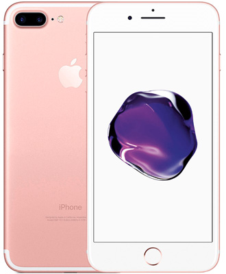 Apple iPhone 7 Plus 32 GB Rose Gold (Rose Gold)