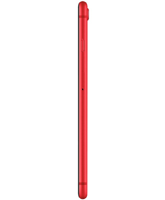 Side view of iPhone 8+ Red 256 GB