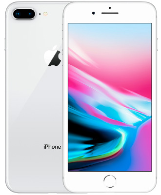 IPhone 8 plus silver 64 GB