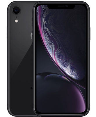 Top version of the iPhone XR in an elegant color