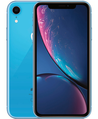 Take advantage of the unique offer of ICOOLA and buy an iPhone XR blue 256 GB