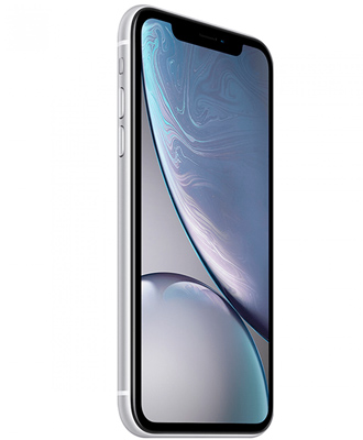 IPhone XR is white at 256 gigabytes with a guarantee