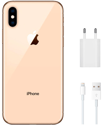 IPhone XS gold set 256 GB