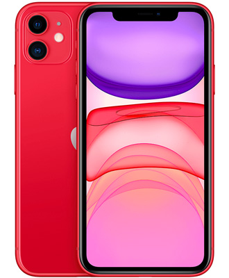 Order iPhone 11 Red 128GB.
