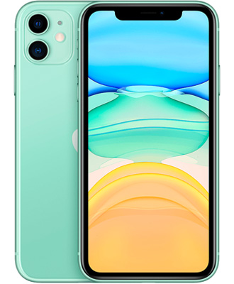 Attractive price for a green iPhone 11.