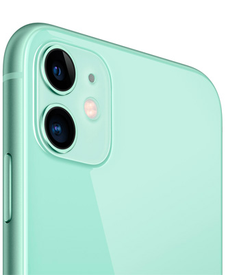 Implanting greenery iPhone 11 in the ideal camp