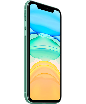 A good vibe is the green iPhone 11 64 GB