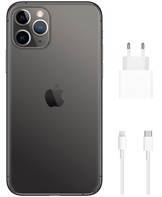 charging iphone 11 pro gray 256