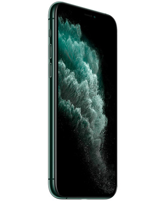 front side of the iPhone 11 Pro dark green 64 GB
