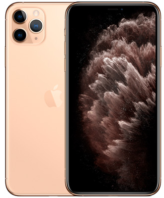 Attractive and high-quality gold iPhone 11 pro max with 256 GB.