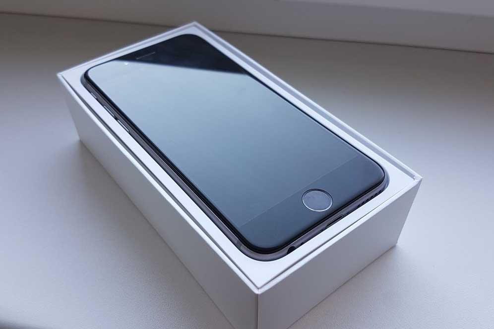 Extremely attractive offer for sale iPhone 6 space gray