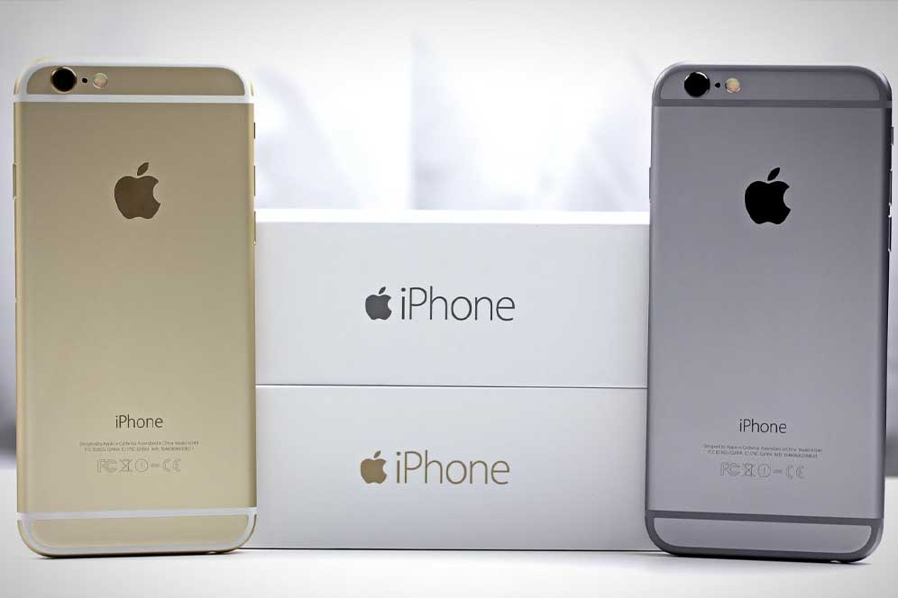 Buy an iPhone 6 128 GB Gold in Kiev with a 1-year warranty