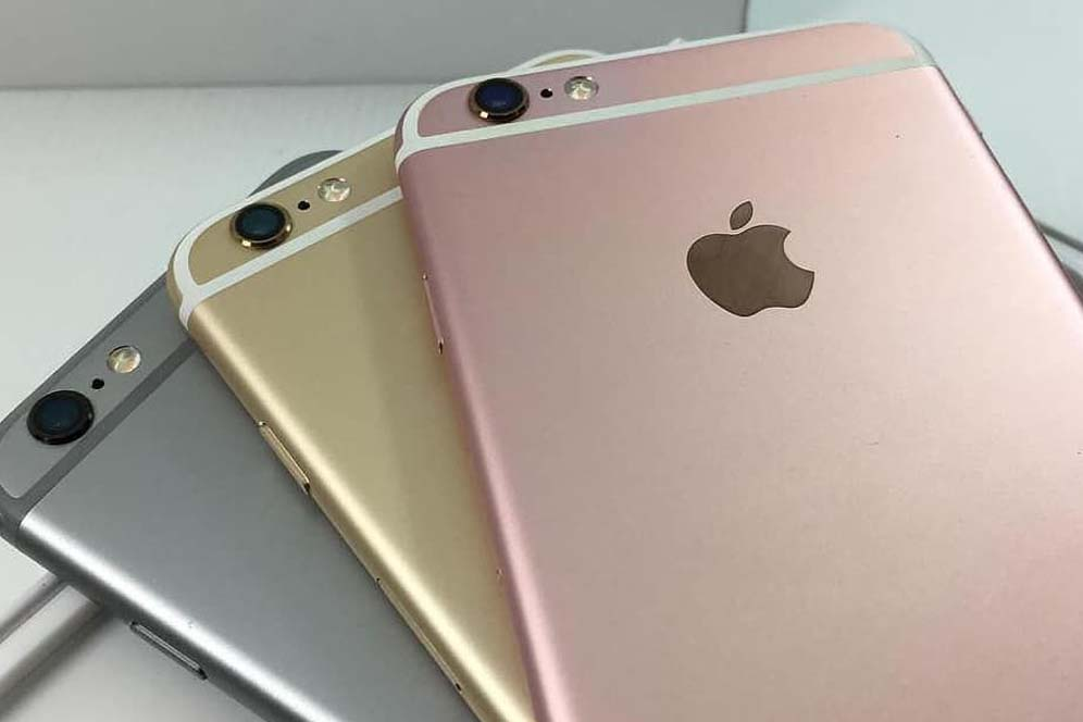 Processor and functional of the used iPhone 6s in the Gold color