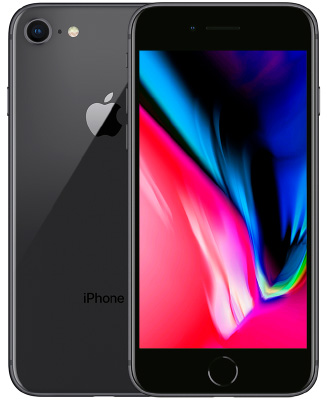 iPhone 8 in black on 32gb