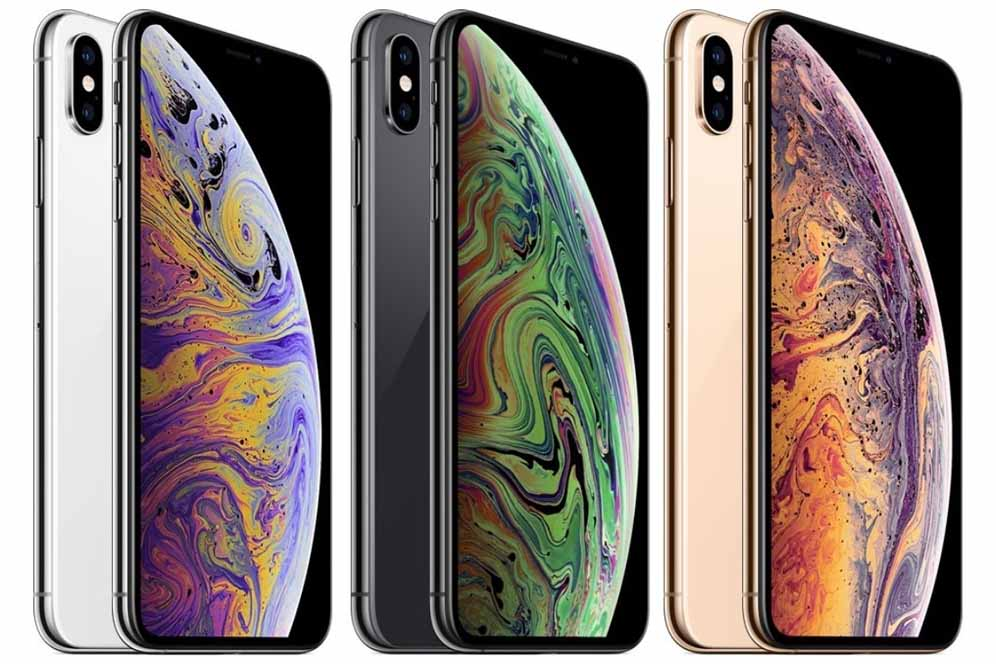 IPhone XS colors: silver, space gray, gold
