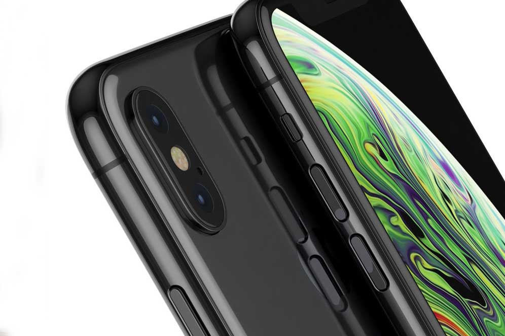 iPhone XS Space Gray 64 gb OLED-дисплей