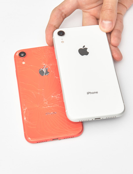 IPhone XR back cover restoration