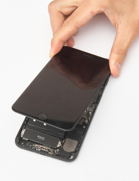 IPhone 7 Plus screen recovery glass