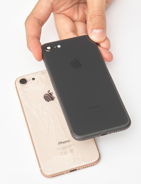 IPhone 8 back cover recovery
