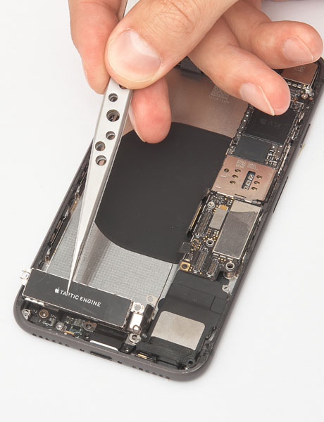 Vibration motor (Taptic) recovery in iPhone 8