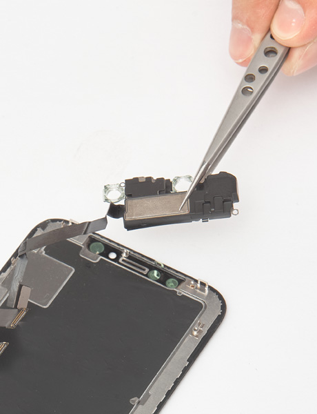 Repair the ear speaker in iPhone X
