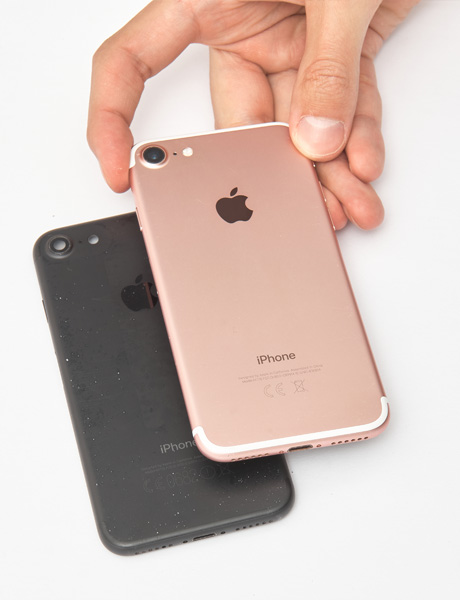 torsion of the iPhone 7 case