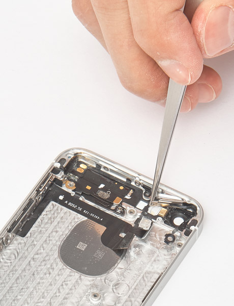 Restore the Power button in iPhone 5s