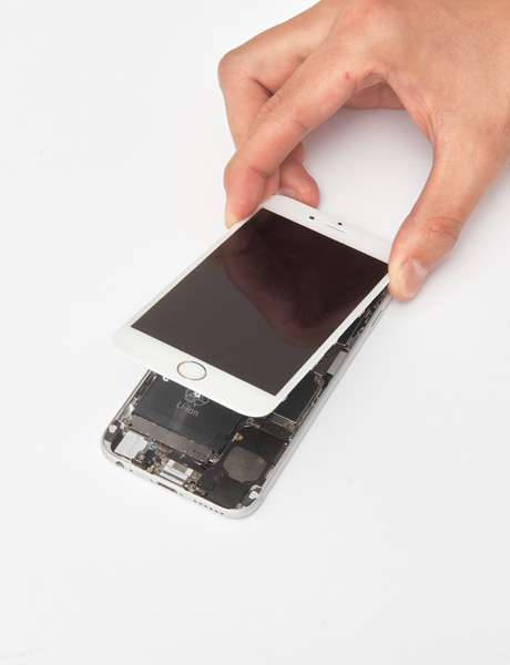 Screen glass repair for iPhone 6