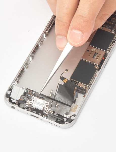 restore and replace lightning connector in iphone 6