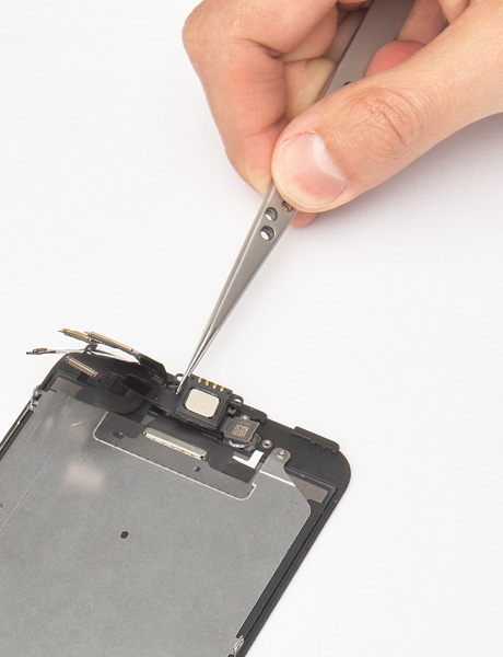 Repair the hearing speaker in iPhone 6 Plus